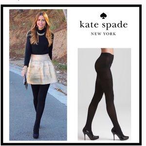 Kate Spade Black Tights